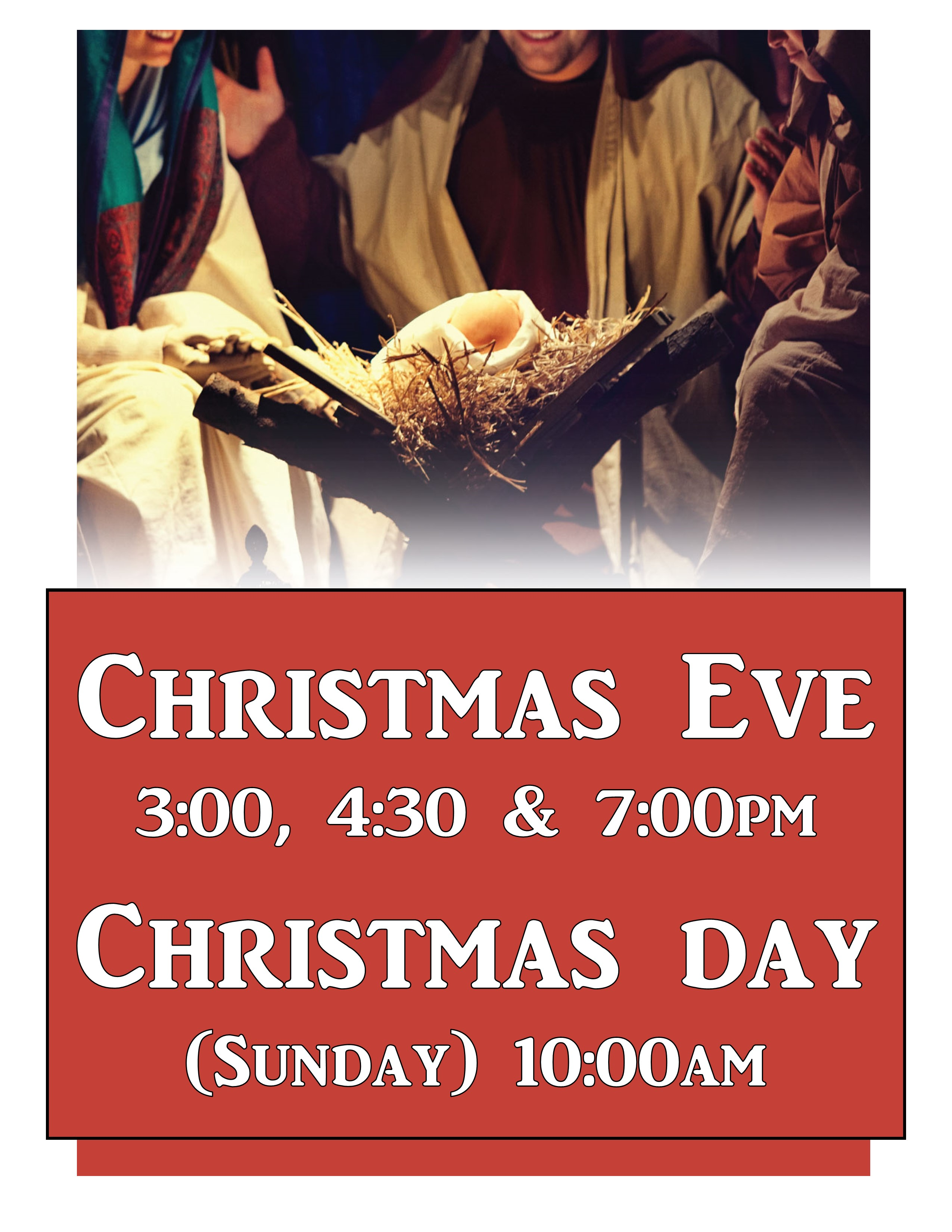 2016 christmas poster b - When Is Christmas Day 2016