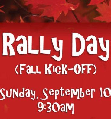 Rally Day Fall Kick-off