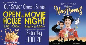 Open House & Movie Night @ Our Savior Church & School